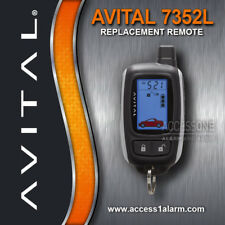 Avital 7352L 2-Way LCD Remote Control EZSDEI7352 NEW For Avital 5303 And 3300