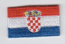 mini Kroatien ,Croatia  Aufbügler,Aufnäher,Patch,Flagge,Flag 35 mm * 20 mm
