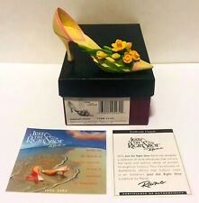 2004 Just The Right Shoe Daffodil Hope 25482 Cancer New! Never Displayed! Mib!
