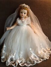Vintage Collectible Madame Alexander ELISE Bride Doll-One owner