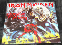 Iron Maiden The Number Of The Beast Sealed Vinyl Record Lp USA 1982 Orig Promo