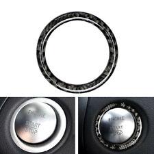 Lgnition Key Ring Cover Trim For Benz C Class W204 2011-14 Carbon Fiber Sticker