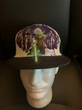 New with Tags NWT Star Wars Yoda Kids SnapBack Flat Brim Bill Hat OSFM