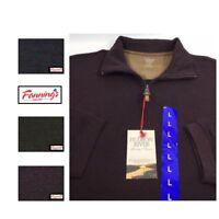 NEW! Hudson River Men's 1/4 Zip Shirt Long Sleeve Ribbed Pullover VARIETY - E51