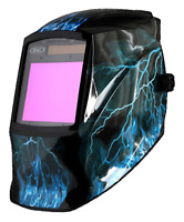 Auto Darkening Solar Welding Helmet Mask Grind Function Large Viewing Area