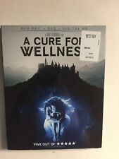 A Cure For Wellness (Blu-ray/DVD, 2017, Digital HD) NEW w/slipcover