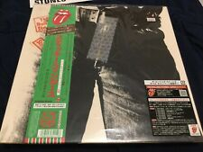 The Rolling Stones Sticky Fingers CD Japanese Limited Edt + OBI+Inserts NM
