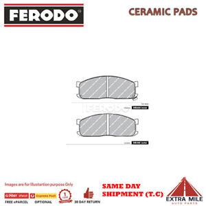 FERODO TQ BRAKE PADS FRONT For Mazda E SERIES E1800 1982-1987 1.8L 4cyl DB388FTQ