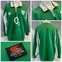 Canterbury Ireland Rugby Jersey Shirt XXL Men Green 02 Cotton Poly YGI A1-170