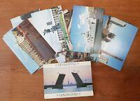 Set of 28 pcs Postcard Leningrad USSR Saint Petersburg Vintage Postcards 1987 La