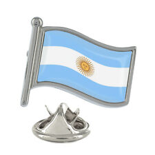 Argentina Wavy Flag Pin Badge Argentinian Country Brand New & Exclusive