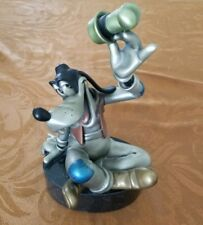 Just Goofy - Chilmark Hudson Creek Disney Figure. Fine Art Pewter Statue - Rare