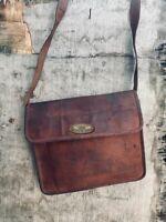Bag Leather Magnetic Closer Messenger Shoulder Women's Satchel Laptop Briefcase