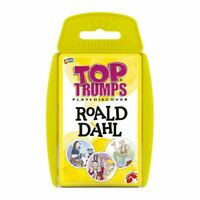 Roald Dahl Top Trumps Card Game
