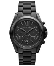 Michael Kors Men's Bradshaw Chronograph 100m Black Stainless Steel Watch Mk5550