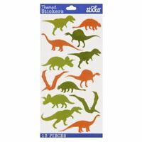 Dinosaur Dino Scrapbook Stickers Papercraft Planner Supply Party Seals Crafts