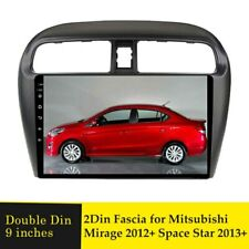 9inch Car Radio Fascia Stereo Frame For Mitsubishi Mirage 2012+ Space Star 2013+