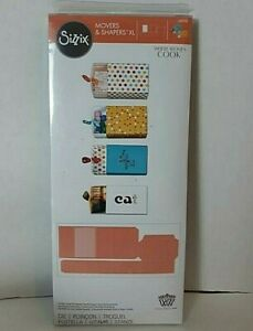 Sizzix XL Die Where Women Cook Movers and Shapers 659198 Match Box