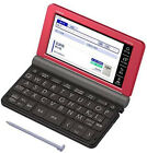 Casio Electronic Dictionary EX-Word XD-SR6500RD Red Learn Japanese Japan