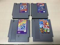 Mega Man 2 3 4 6 Nintendo NES Video Game Lot Authentic Tested