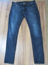 "Ralph Lauren Denim & Supply ""Skinny"" Blue Denim Jeans Womens 31 X 32 Low Stretch"