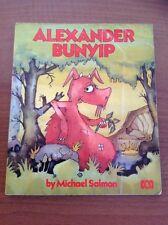 ALEXANDER BUNYIP Michael Salmon retro ABC TV Australian Children's Book