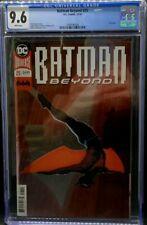 BATMAN BEYOND #25 CGC 9.6 Beautiful FOIL COVER 1st appearance of Elainna Grayson