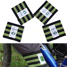 1 Pair Cycling Bike Bicycle Bind Elastic Trousers Pants Band Leg Strap Le