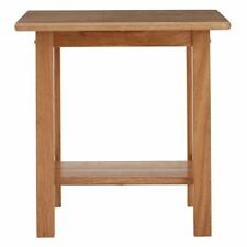 Premier Housewares Square Side Table Tropical Hevea Wood - Natural