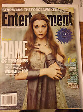 Natalie Dormer Margaery Tyrell GAME OF THRONES ENTERTAINMENT WEEKLY APRIL 2016 B
