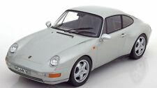 1:18 Nouveauté NOREV 1993 PORSCHE 911 993 CARRERA coupesilvermetallic lmtd. 1500