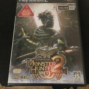 New!! PlayStation 2 PS2 MONSTER HUNTER 2 Capcom Japan Game Soft SLPM66280