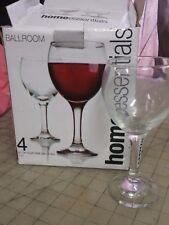 55bcaf22f92 Home Essentials Wine Glasses 11 Oz. Glassware Set Of 4 - Ballroom