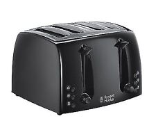 Russell Hobbs 21651 High Quality Stylish 4 Slice Textures Toaster Black