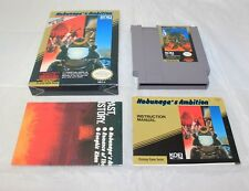 Nobunaga's Ambition (Nintendo Entertainment System, 1989) Complete in Box