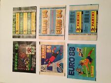 3 BUSTINA PACKET PANINI EURO EUROPA 80 84 88 - 1980 1984 1988