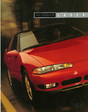1994 Plymouth LASER Brochure/Catalog with Color Chart: RS,TURBO,AWD.4WD