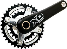SRAM Truvativ X0 2x10 Speed BB30 MTB Carbon Crankset 28/42 170mm Black/Silver XO