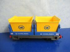 4125 Conlines Eisenbahn Schüttgut Güterwagen zu 4010 5258 Playmobil  9868