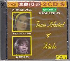 Tania Libertad y Fetiche 30 Exitos 2CD Vol 1 New Nuevo sealed