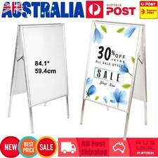 A1 Size Double Sided A-frame Display Snap Board Advertising Poster Stand Holder