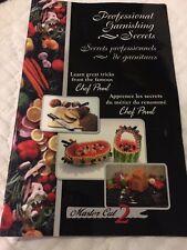 ❤️Set of 2 Magic Spiral Professional Garnishing Secrets Tool Chef Paul + Booklet