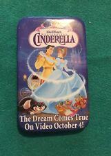 Cinderella Htf Walt Disney Flatback Rectangular Pin Prince Charming