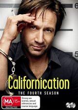 Californication : Season 4 (DVD, 2011, 2-Disc Set) Region 4 Unsealed