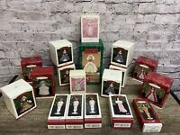 Hallmark Holiday Christmas Ornament Lot All BARBIES Set Of 19 In Box
