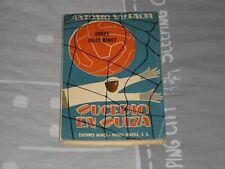 LIBRO FUTBOL SUCEDIO EN SUIZA ANTONIO VALENCIA EDICIONES MARCA MUNDIAL 1954