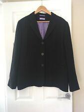 DCC Kendle Range Women's Work Uniform. Lined Suit Jacket in Black Size UK 22