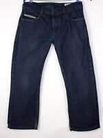 Diesel Hommes Zatiny Jeans Jambe Droite Taille W30 L24 AMZ578
