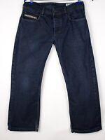 Diesel Hommes Zatiny Jeans Jambe Droite Taille W30 L24 AMZ578