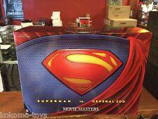 DC Movie Masters Superman vs General Zod Figure Set MIB